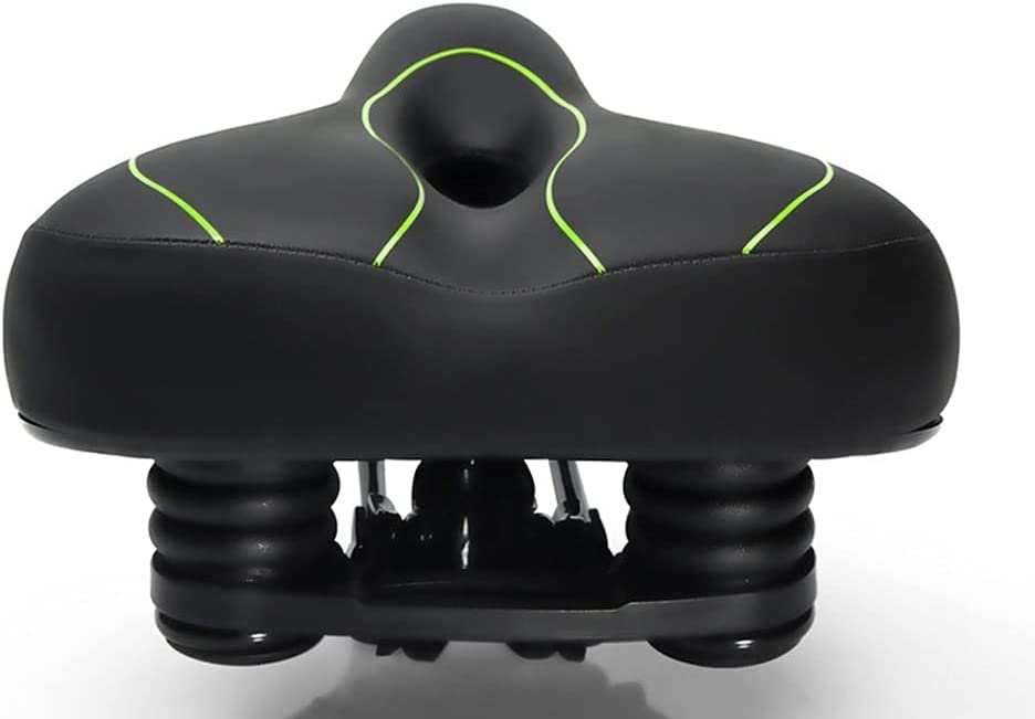 Mountain Overseas parallel import Ranking TOP11 regular item Bike Seat Cushion Bicycle Butt Widened Big Soft Saddle