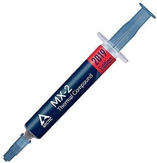 ARCTIC MX-2 (4 g) - Compuesto térmico de alto rendimiento de micropartículas de carbono, pasta térmica para cualquier ventilador de CPU