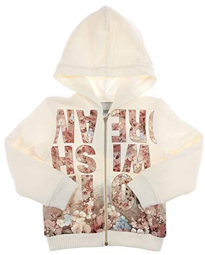 Mayoral Ecru - Sudadera infantil con estampado, forrada Blanco 116 cm