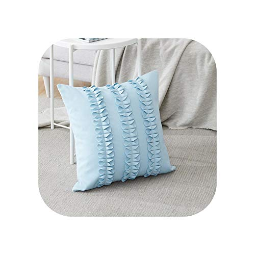 My cat - Funda de cojín de lana decorativa de lujo con lazo para sofá cama, 6 colores, 45 x 45 cm