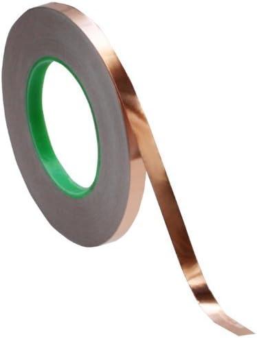 3 8 inch x 55 Sales of SALE items from new works yds Copper Popular overseas Foil 50m Tape 10mm EMI - Shieldin