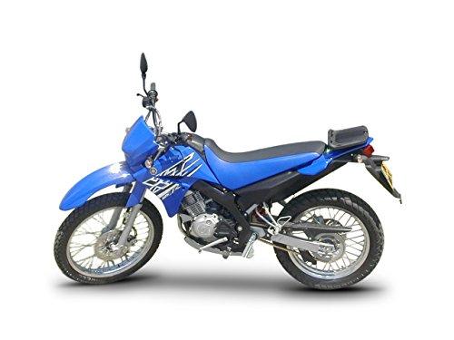 Shad Y0XT15ST Soporte de Baúl para Yamaha XT 125 R/X, Negro