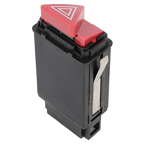 BOINN BotóN de Interruptor de Advertencia de Luces de Peligro de Emergencia para - A6 4B C5 4B0941509D 4B0941509K 4B0941509C