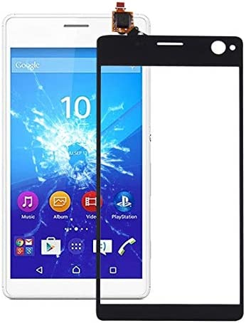 LENASH Touch Panel for Sony Xperia C4 Black Screen Glass Replacement Color Black product image