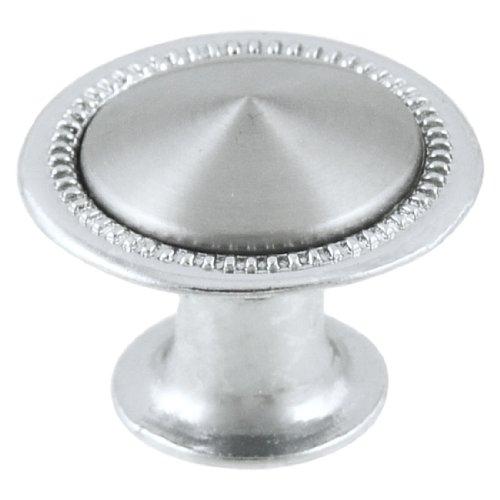 Cupboard ladekast Pull knop greep zilver Tone 24mm Dia