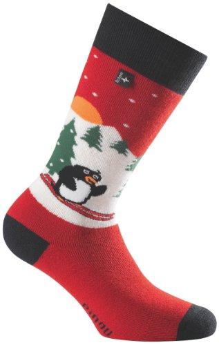 Rohner Socken Kinder Socke Freestyle Pinguin, Vulkan, 23-26, 25_0093_Vulkan