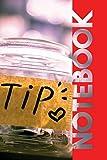 Notebook: Tip Jar Elegant Composition Book for applying for Restaurant Jobs