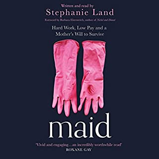Maid audiobook cover art