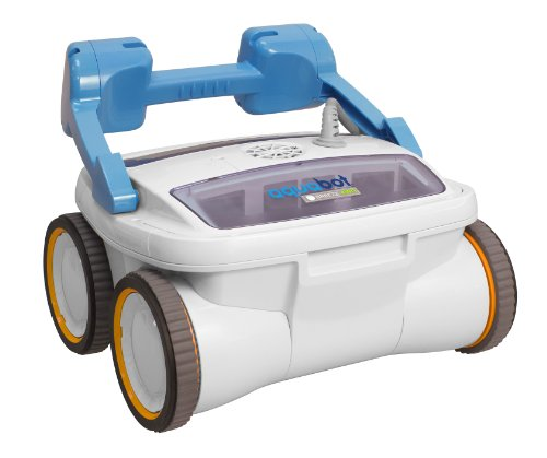 : Aquabot ABREEZ4WD Breeze 4WD Robotic Pool Cleaner for In Ground Pools up to 60-Feet