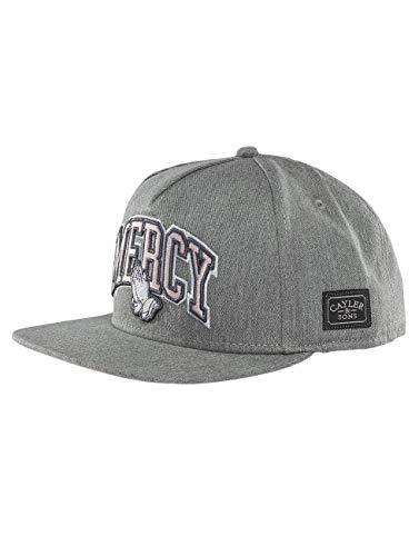 Cayler & Sons Herren Snapback Caps WL Mercy grau Verstellbar