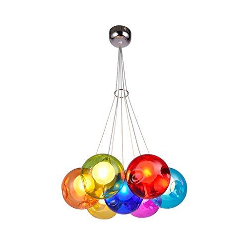 Lily\'s-uk Love-Chandelier Kinder kreative Wohnzimmer Kronleuchter Esszimmer Kronleuchter Kronleuchter Ball Blase farbigen Glaskugeln Kugel Glaskugel