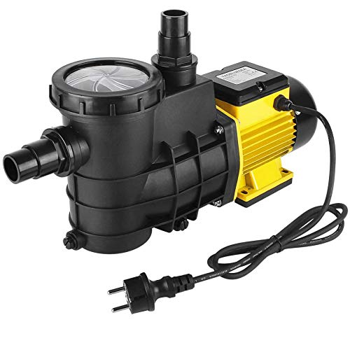 YAOBLUESEA Schwimmbadpumpe Umwälzpumpe Poolpumpe Filterpumpe 14500L/h,für die Zirkulation und Filtrierung