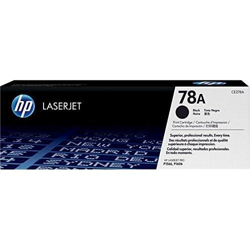 HP 78A CE278A Cartuccia Toner Originale, Compatibile con Stampanti LaserJet Pro P1566, P1606dn, M1530, M1536 e M1536dnf, Nero