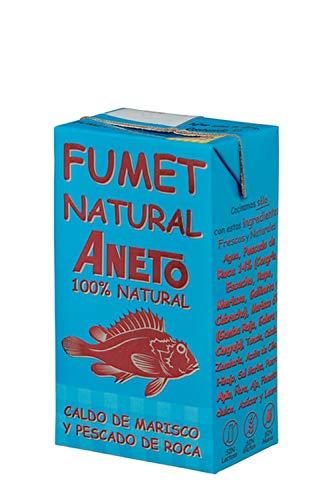 fumet de poisson de roche et fruits de mer 100% naturel 1l aneto