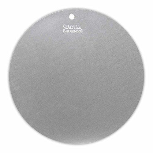 Städter Tortenunterlage, Aluminium, Silber, 32 x 32 x 0.5 cm