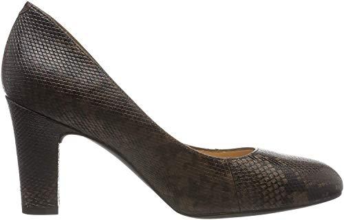 Unisa Impu_CLF_scu, Zapatos de Tacón Mujer, Marrón (Livanto Livanto), 37 EU