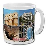 Tazza 'Casa Mila Barcellona' - Souvenir 283,5 g
