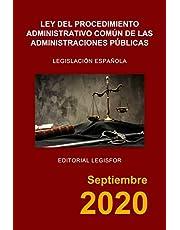 Ley del Procedimiento Administrativo Común de las Administraciones Públicas: Ley 39/2015, de 1 de octubre