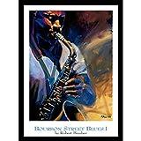 Buyartforless Work Poster Bourbon Street Blues I von Robert