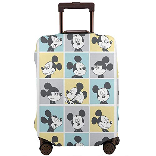 Travel Luggage Cover Mickey Mouse Pop Art Suitcase Protector Washable Baggage Covers 18-32 Inch-XL