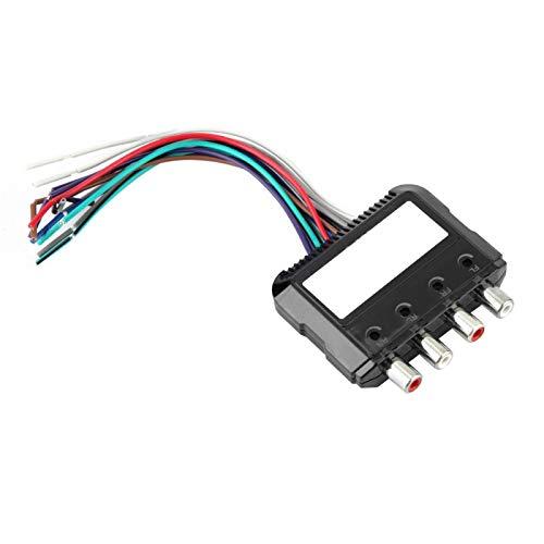 Convertidor de audio de subwoofer estéreo Audio alto a bajo Ajustable Necesario Premium para host para CD para radio para DVD