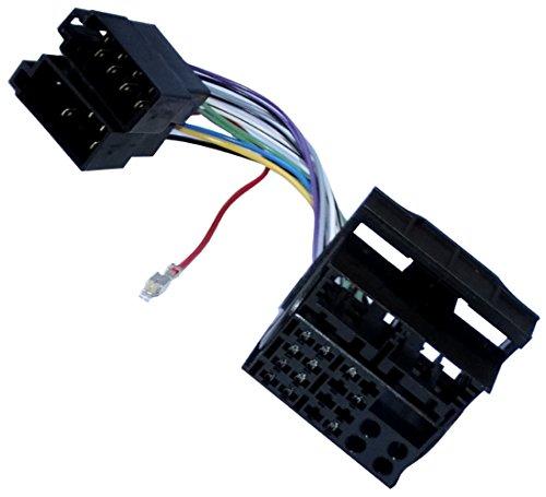 AERZETIX: Adaptador Cable Enchufe ISO para Radio de Coche, vehículos C11930