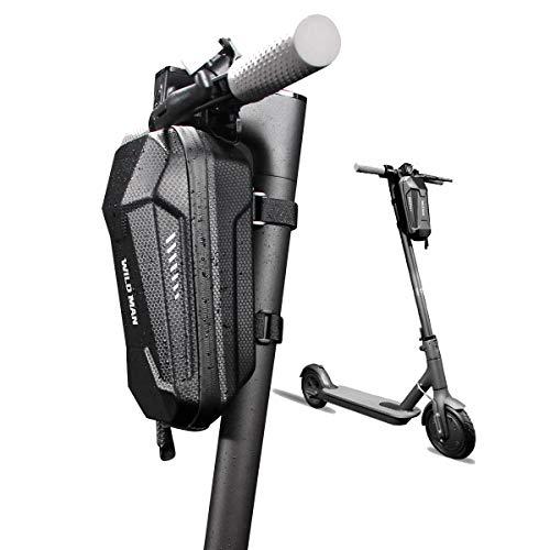 DOLA Equilibrio eléctrico Coche Bolsa Delantera, Cáscara Dura de EVA Impermeable Bicicleta Bolso Colgante con 3L de Alta Capacidad y diseño de Tira Reflectante