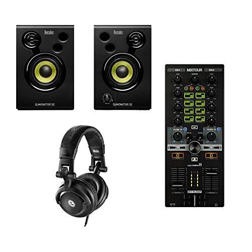 Reloop Mixtour - Controlador de DJ todo en uno de 2 canales para iPad/Tablet Spotify DJAY2