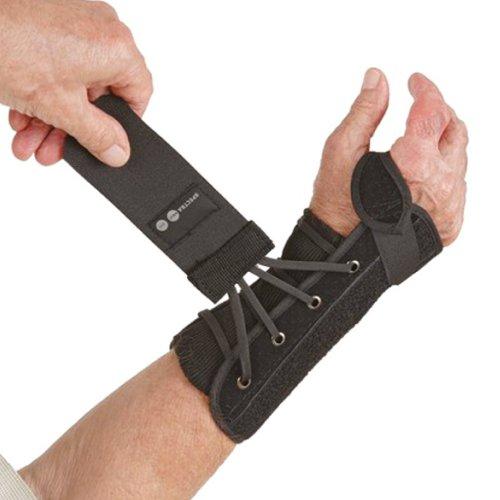 Össur Spectra® Handgelenkbandage - Handgelenkstütze - Handgelenkschiene, Farbe:schwarz, Größe/Seite:M/Rechts