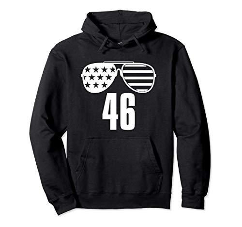 46 Biden 46a gafas de sol de la bandera estadounidense Joe Sudadera con Capucha