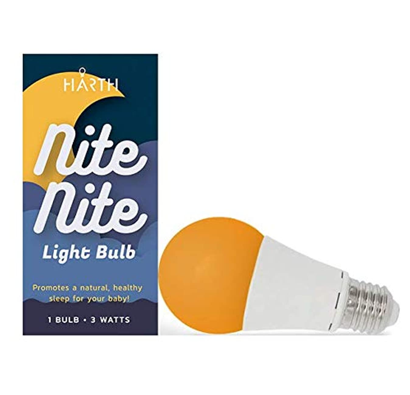 Nite-Nite Light Bulb. Natural Baby Sleep Aid. Promotes Healthy Sleeping Habits for Baby and Mother | Certified by The National Parenting Center.