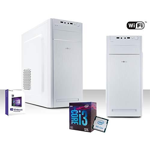 PC Desktop Completo Intel I3-9100F 4,2 GHz 9° Generación, Licencia Windows 10 Pro 64 bit/WiFi 300 Mbps/HDD 1 TB, Ram 8gb ddr4 2400 MHz/hdmi dvi vga USB 3.0 2.0 Editing 4K Oficina