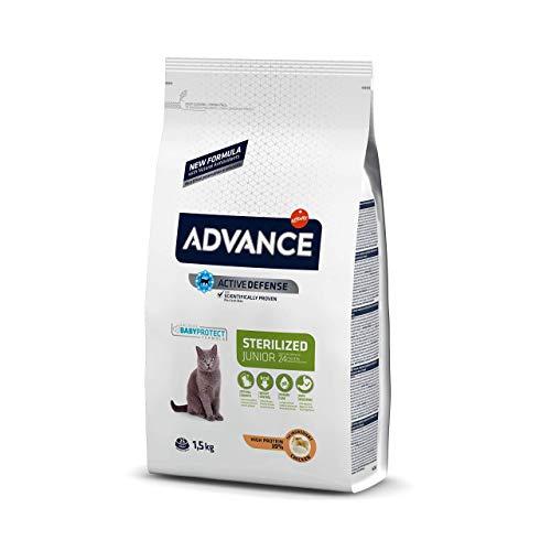 Advance Pienso para Gato Junior Esterilizado con Pollo - 1,5kg 🔥