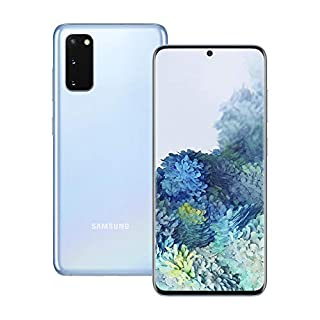 Samsung Galaxy S20 5G Mobile Phone; Sim Free Smartphone - Cloud Blue (UK Version) (B084GPSKP6)   Amazon price tracker / tracking, Amazon price history charts, Amazon price watches, Amazon price drop alerts