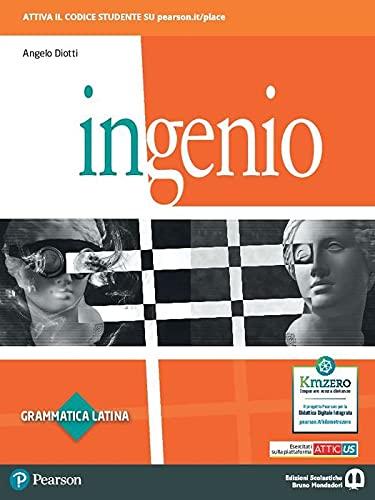 Ingenio. Grammatica latina. Con Lingua, lessico, cultura latina. Per le Scuole superiori. Con e-book. Con espansione online
