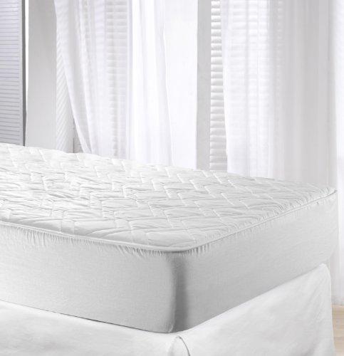 Velfont Protector de colchón Impermeable Acolchado Algodón, 90 x 200 cm