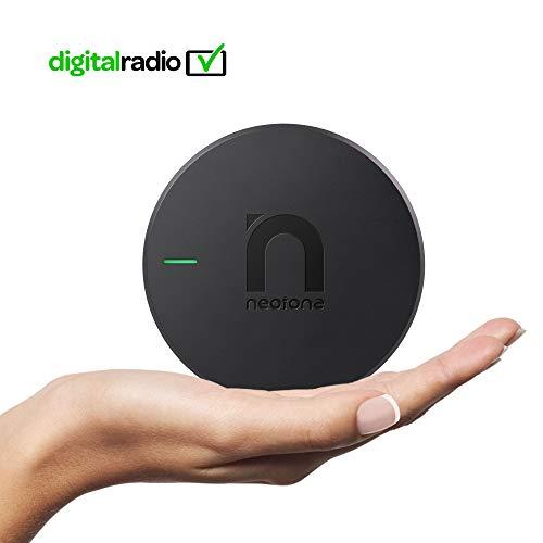 NEOTONE DRB-100X DAB+ ontvanger | Digital Audio Broadcasting | DAB+ antenne voor Android autoradio | USB-aansluiting | Duitse gebruiksaanwijzing | Universeel |