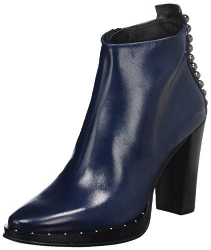 Zinda Damen 3195 Stiefel, Blau (Navy), 40 EU