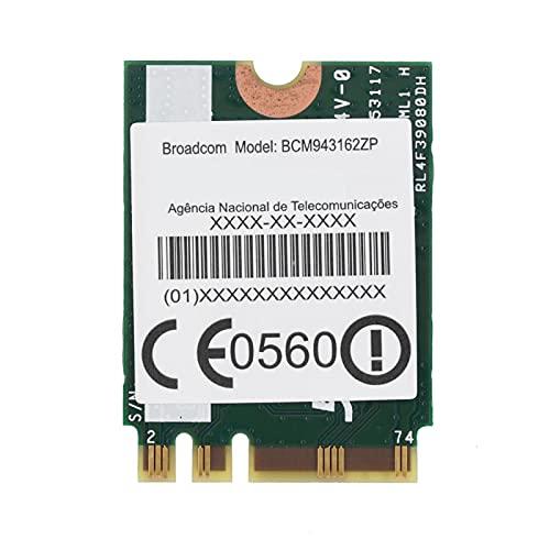 Tarjeta de Red Mejor Rendimiento 433Mpbs Tarjeta WiFi 2.4G / 5G Mini Banda Dual para computadora portátil para computadora