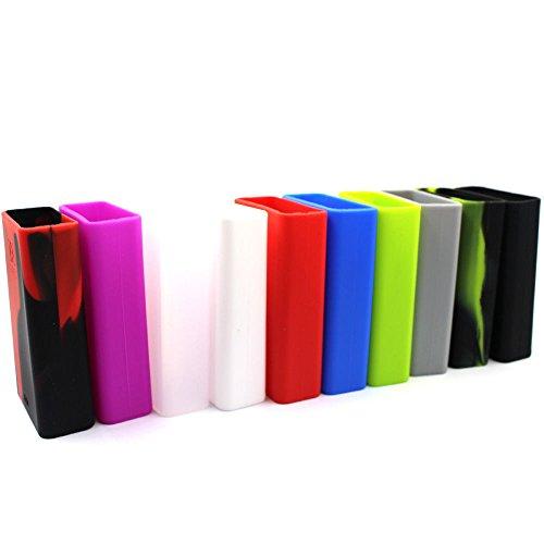 DIY-24H - Schutzhülle für Smok XCube 2 160W Akkuträger Silikon Case Silicone (Rosa)