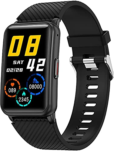 QIXIAOCYB Reloj Inteligente Señoras 1g Memoria TWS Auricular Función Hombres Fitness Tracker Cronómetro Bluetooth Llamada Reloj Inteligente Señoras, B,