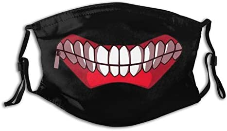 WINTERSUNNY Outdoor Anime Reusable Tokyo Ghoul Face Mask Dust Proof Wind Proof Mouth Cover Washable product image