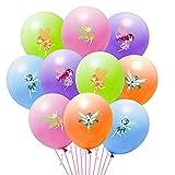 OSNIE 50Pcs Fairy Themed Latex Balloons,...