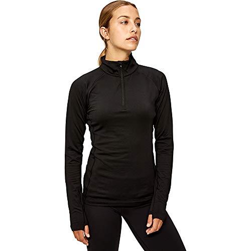 Lolë Striking T-Shirt Manches Longues Femme S Noir (Black)