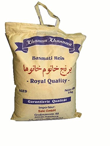 Riz basmati doré Lawangi 5 kg Produit au Pakistan
