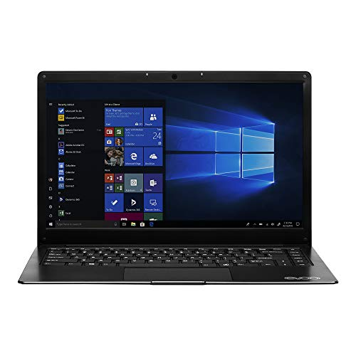 "EVOO 14.1"" Ultra Thin Laptop FHD, 32GB Storage, 4GB Memory, Micro HDMI,..."