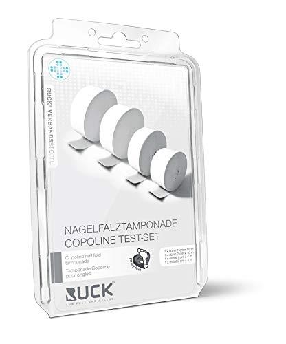 Nagelfalztamponade Copoline, Vlies-Tamponade für sensible Arbeiten im Nagelfalz