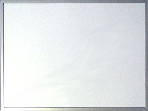 Magnettafel 80 x 120 cm mit silbernem Holzrahmen