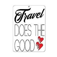 旅行は女性の屋外の金属アルミニウム印のためのよいおかしい反射印のギフトをします