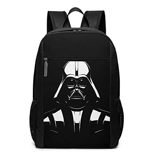 DJNGN Darth Vader Travel Laptop Backpack, Business Anti Theft Slim Durable Laptops Backpack, Water Resistant College School Computer Bag Gifts for Men & Women Fits 17 Inch ebook, Black